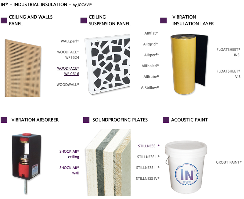 IN® - INDUSTRIAL INSULATION - by JOCAVI