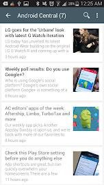 RssDemon News & Podcast Reader Screenshot 1