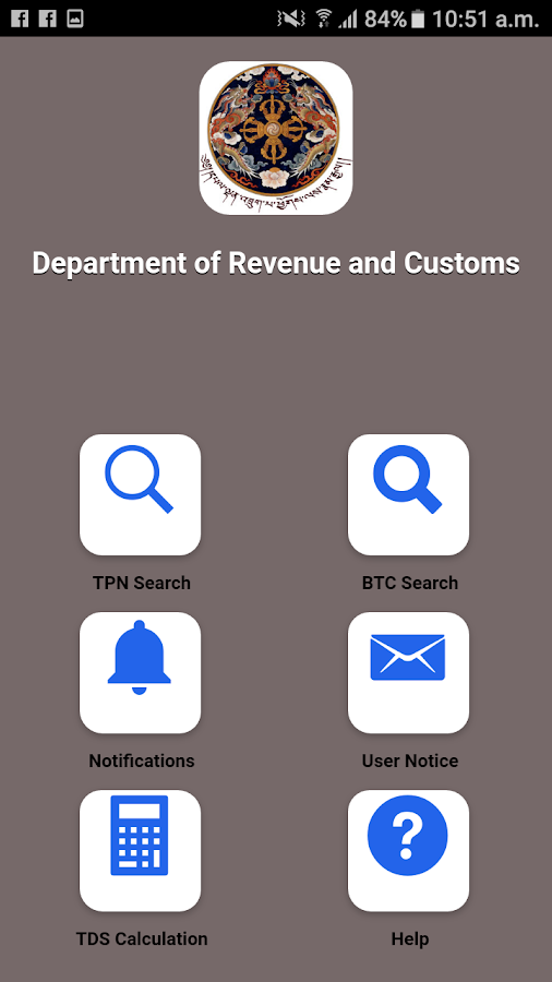 Tax Info App- screenshot