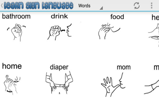 Sign language for beginners helps you understand sign language easily