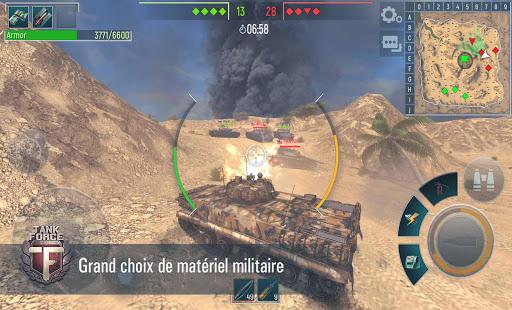 Tank Force: Chars 3D en ligne  captures d'écran 2