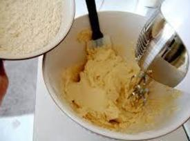 Beat butter till creamy. Add sugar mixture beat till fluffy, add vanilla egg. Turn...