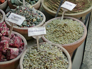 Photo: Frankincense and myrrh in the marketplace
