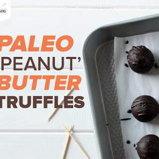Paleo 'Peanut' Butter Truffles Recipe