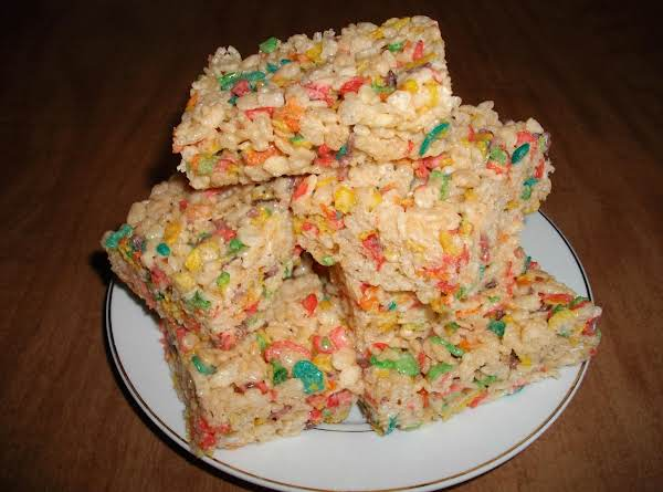 Fruity Flavored Rice Krispie Bars #Recipe 2
