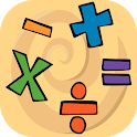 EasyMath. Mathematics, verbal counting. icon