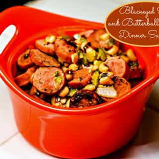 Blackeyed Peas Sausage.