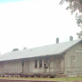 RAIL ROAD DEPOT  by Douglas Edgeworth - Buildings & Architecture Decaying & Abandoned