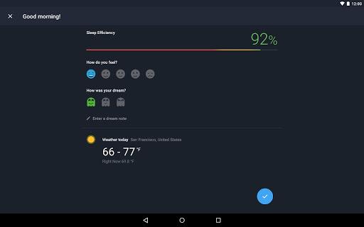 Runtastic Sleep Better: Sleep Cycle & Smart Alarm 2.6.1 screenshots 11