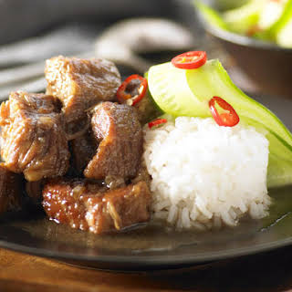 Caramelized Asian Pork Shoulder.