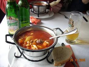 Photo: Gulyás - zupa gulaszowa - gdzieś na Węgrzech, bo piwo węgierskie (fot. GK)
