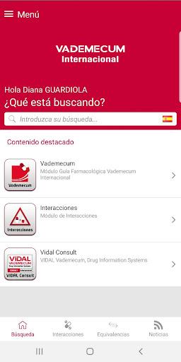 Vademecum Internacional 1.1.1 Screenshots 1