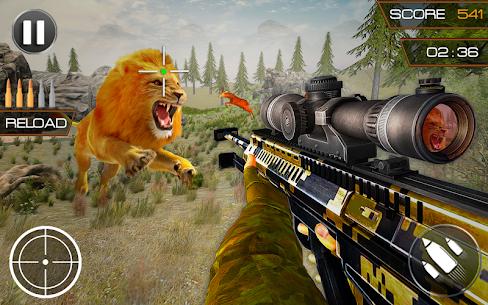 Wild Dinosaur Hunter Simulator:Free Shooting Games 5