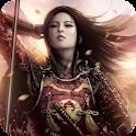Samurai Girl Live Wallpaper icon