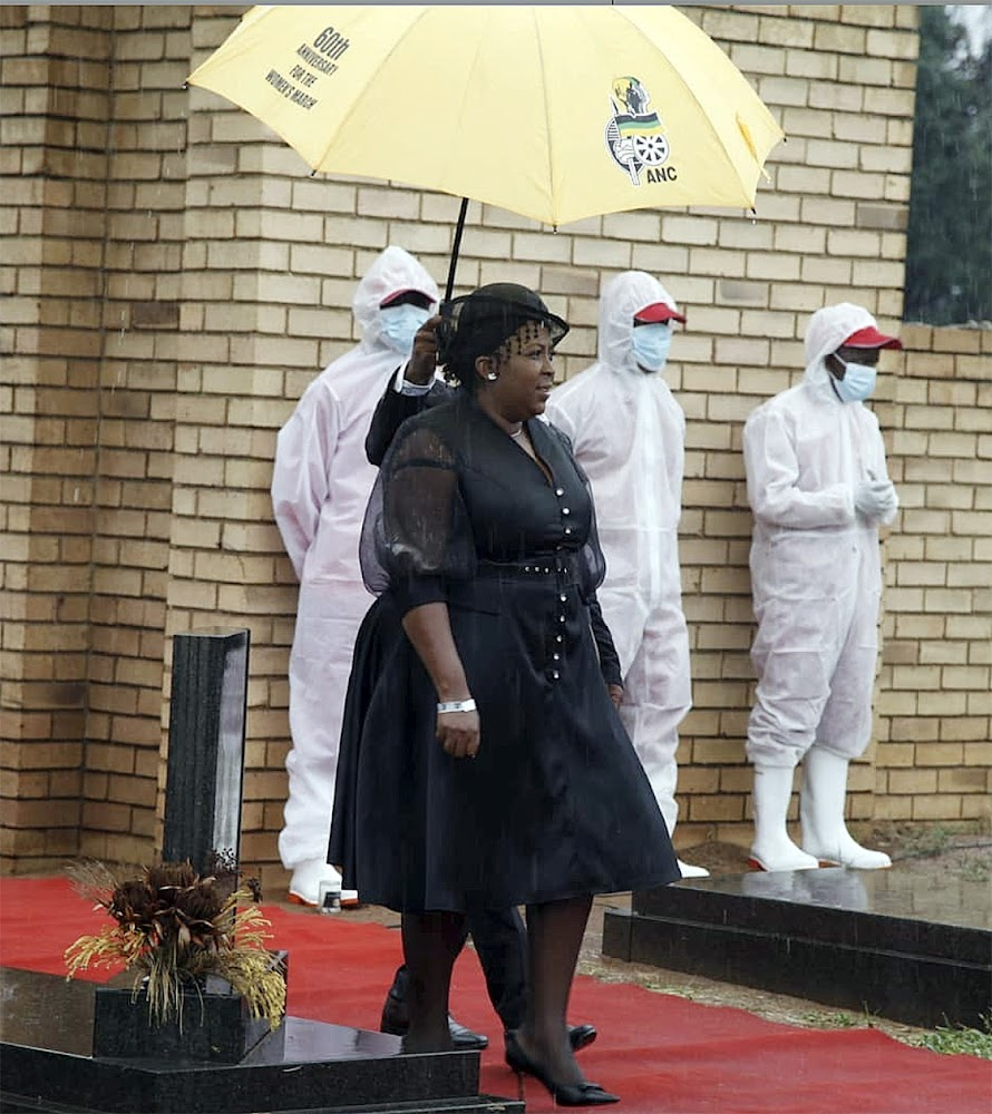 Mpumalanga premier says she paid admission of guilt fine for not wearing mask - SowetanLIVE