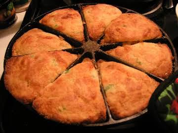 Sweet Cheesy Jalapeno Cornbread