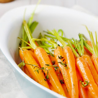 Orange Thyme Glazed Carrots