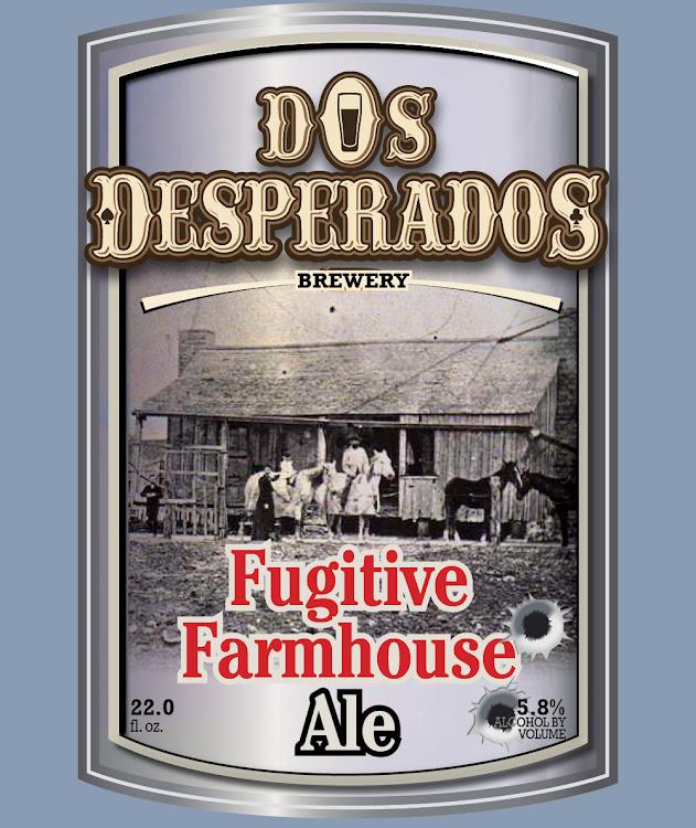 Logo of Dos Desperados Fugitive Farmhouse Ale