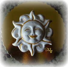 Photo: Gesso a forma di sole. Cm 11