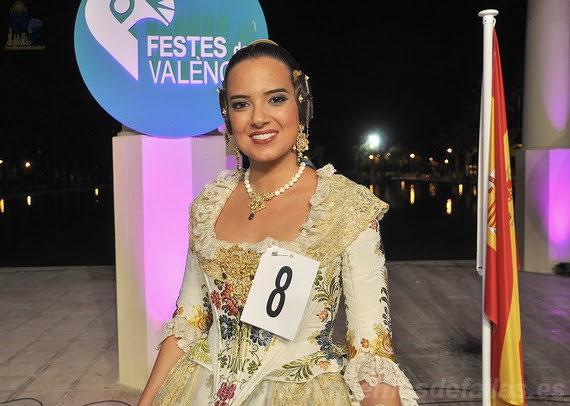 Marina Civera Moreno. Corte de Honor 2019. Barrio de San José.