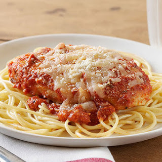 Easy Chicken Parmesan.