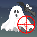 Ghost shooting for kids icon
