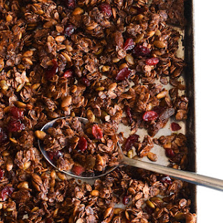 Mexican Chocolate Pumpkin Seed Granola
