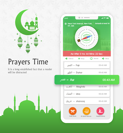 Prayer Times —  Ramadan calendar & Azan Time 7.5 androidtablet.us 1