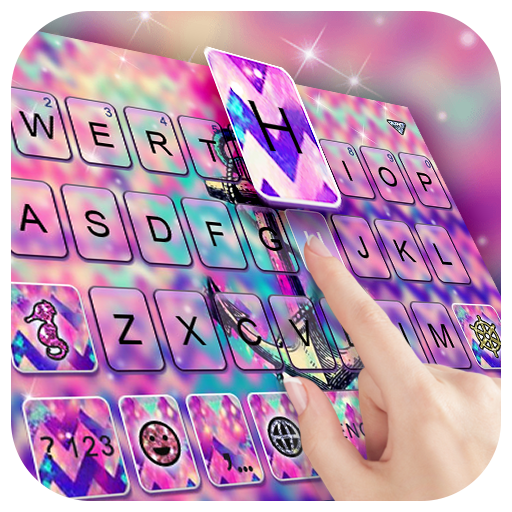 Anchor Galaxy Keyboard Theme Icon