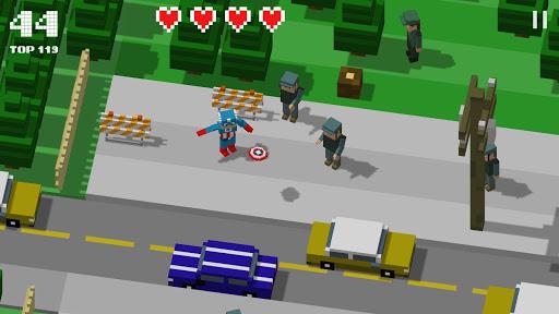 Télécharger Gratuit Crossy Heroes: Avengers of Smashy City APK MOD (Astuce) screenshots 1