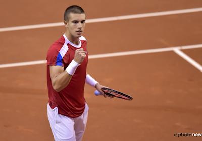 Coupe Davis: La Croatie prend une première option sur la finale