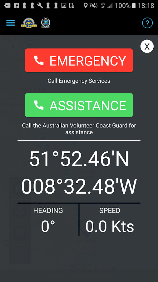 Coast Guard SafeTrx- screenshot