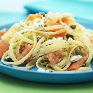 Smoked Salmon and Dill Pasta