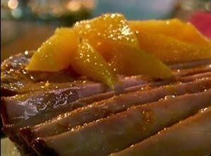 Glazed Skillet Ham Steaks Recipe
