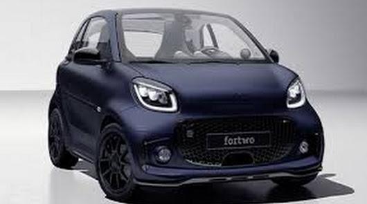 Grupo Saveres ya admite pedidos  del Smart EQ Fortwo Edition Bluedawn