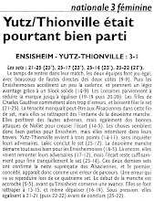 Photo: 20-02-2011 Yutz-Thionville pas loin du tie-break