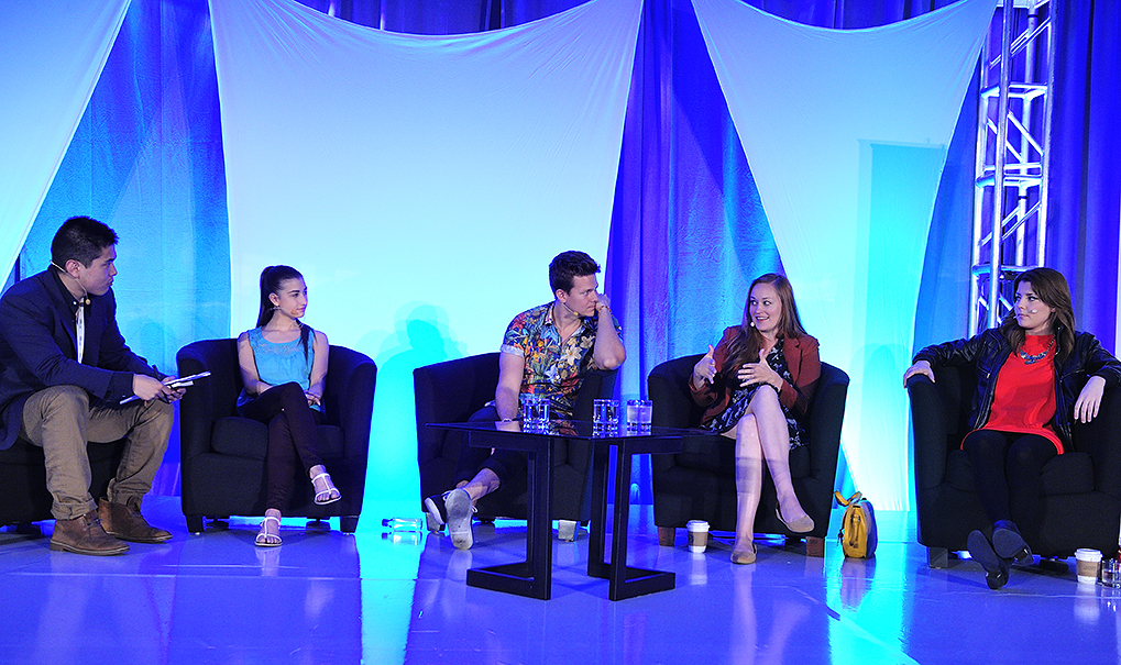 Stream 2014: When You Are The C-Suite: YouTube Creators: Bing Chen, Tyler Ward, Meg DeAngelis, Grace Helbig, Mamrie Hart