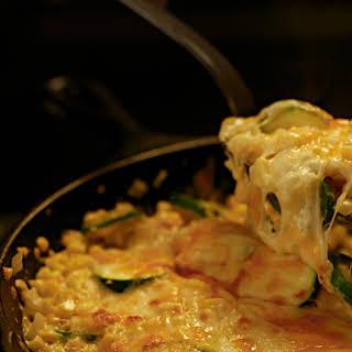 Zucchini & Corn Gratin.