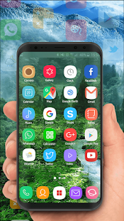 Theme for Samsung S8 Edge, Galaxy s8 launcher - náhled