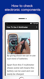 How To Use A Multimeter - náhled