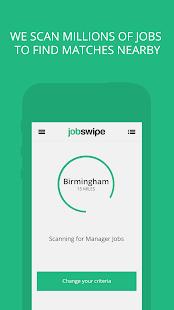 JobSwipe -The Job Swipe App - náhled