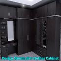 Design Minimalist Clothes Cabinet icon