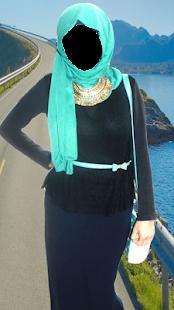 Women Hijab Fashion Photo Montage - náhled