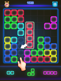 Glow Block Blast - náhled