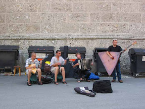 Photo: street musicians (Salzburg)