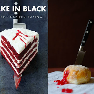 BAKE in BLACK - a REVIEW and a GIVEAWAY Recipe