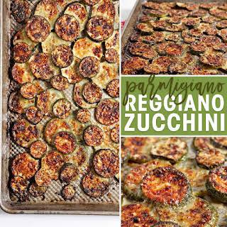 Parmigiano Reggiano Zucchini.