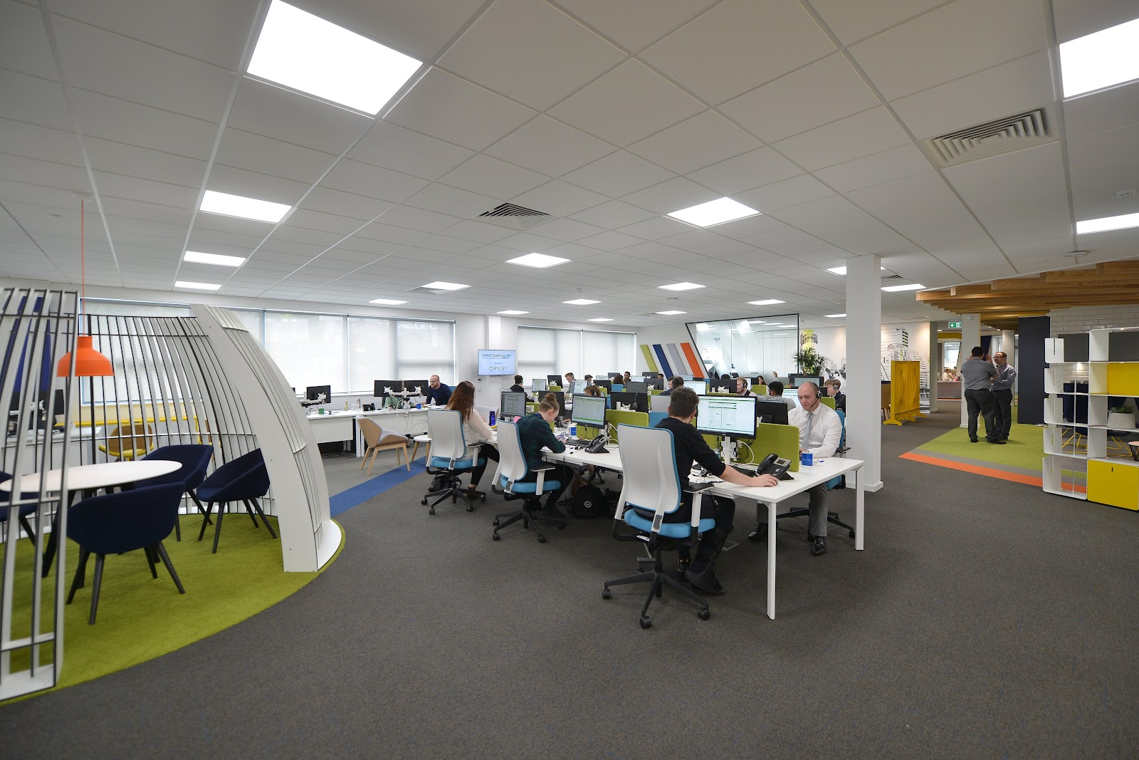 Open Plan Office Fit Out Manchester