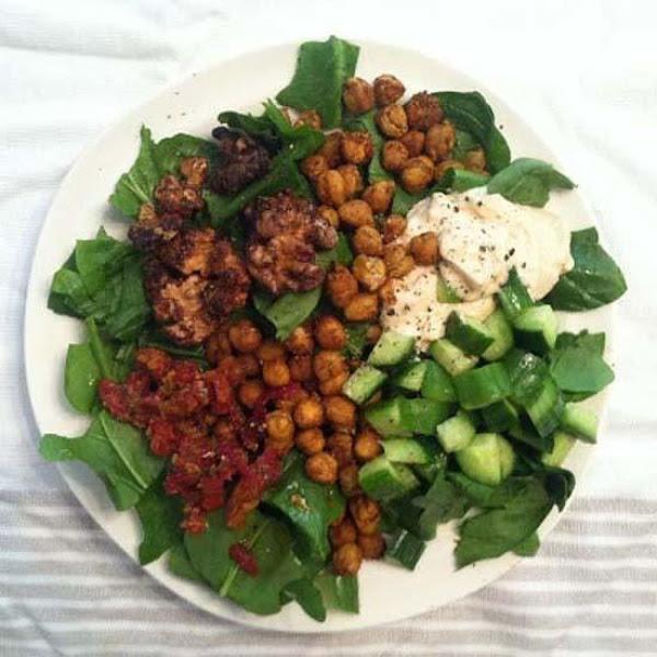 Garam Masala Power Salad Bowl Recipe