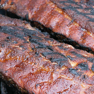 Dry Rubbed Baby Back Ribs.